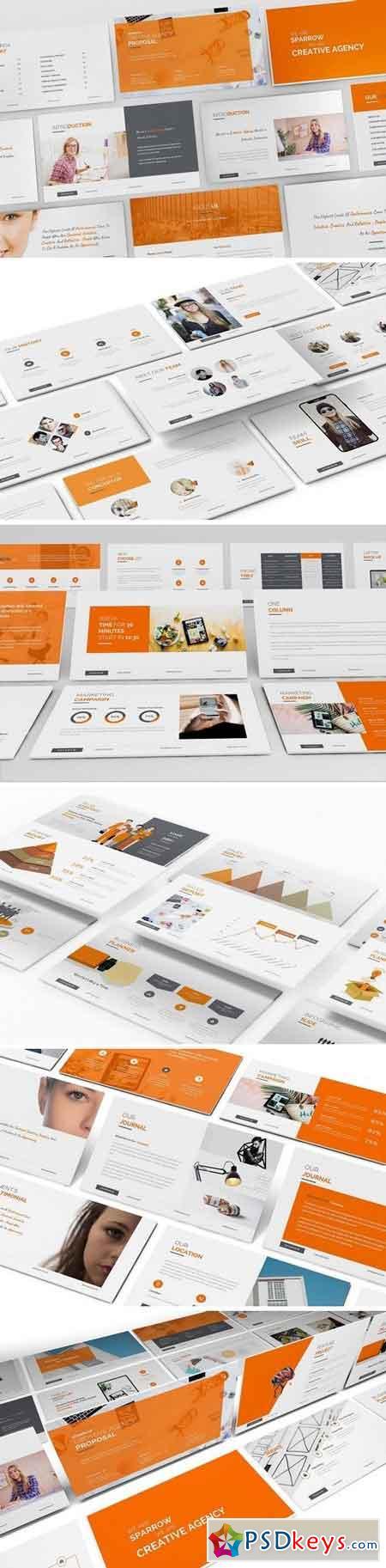 Sparrow - Creative Agency Powerpoint Presentation 2838029