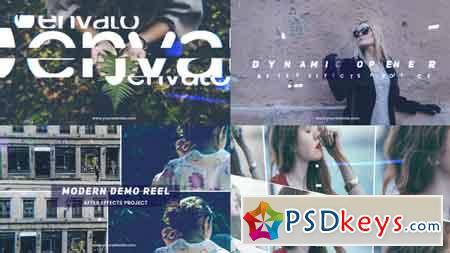Modern Demo Reel 20999802 After Effects Template