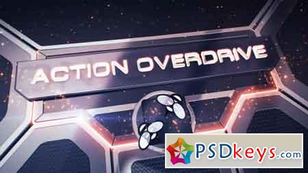 Action Overdrive 3D Package 14059081 After Effects Template