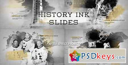 History Ink Slides 19152412 After Effects Template