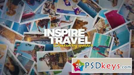 Inspiring Travel Photo Slideshow 22065027 After Effects Template