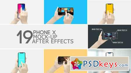 Smartphone Display App Promo 22191977 After Effects Template