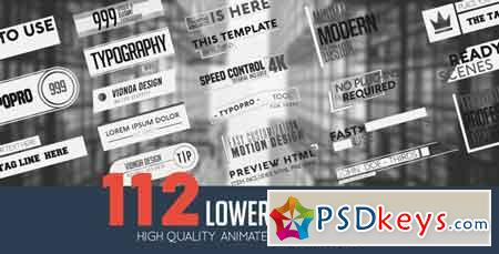 Lower Thirds Pack 21165659 After Effects Template