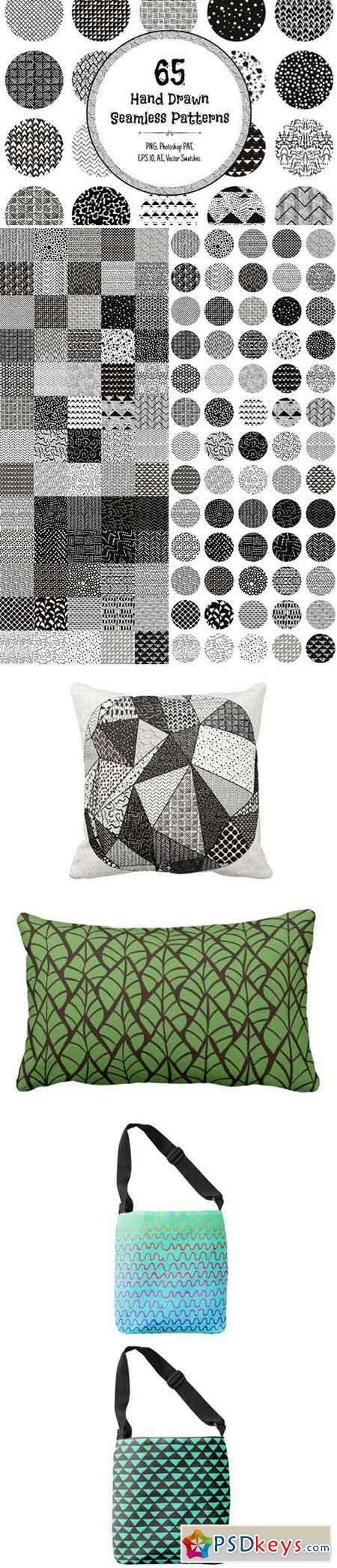 65 Monochrome Patterns 640104
