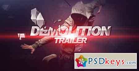 Demolition Trailer 2567069 After Effects Template