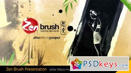 Zen Brush Opener 16752098 After Effects Template