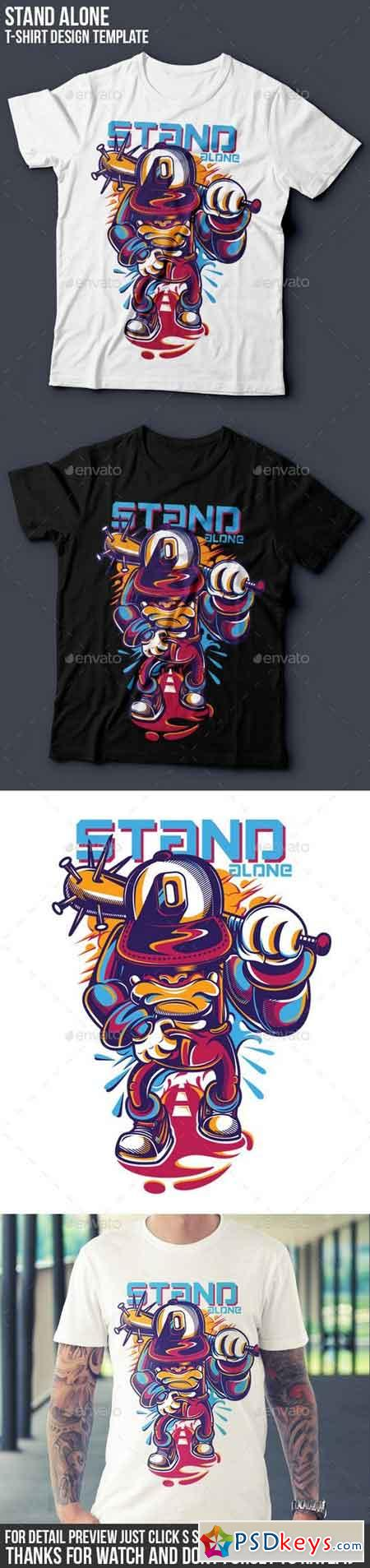 Stand Alone T-Shirt Design 15514417
