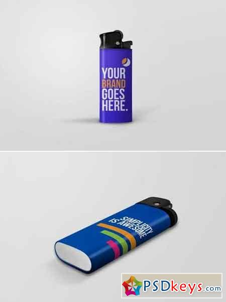 Lighters Mockups