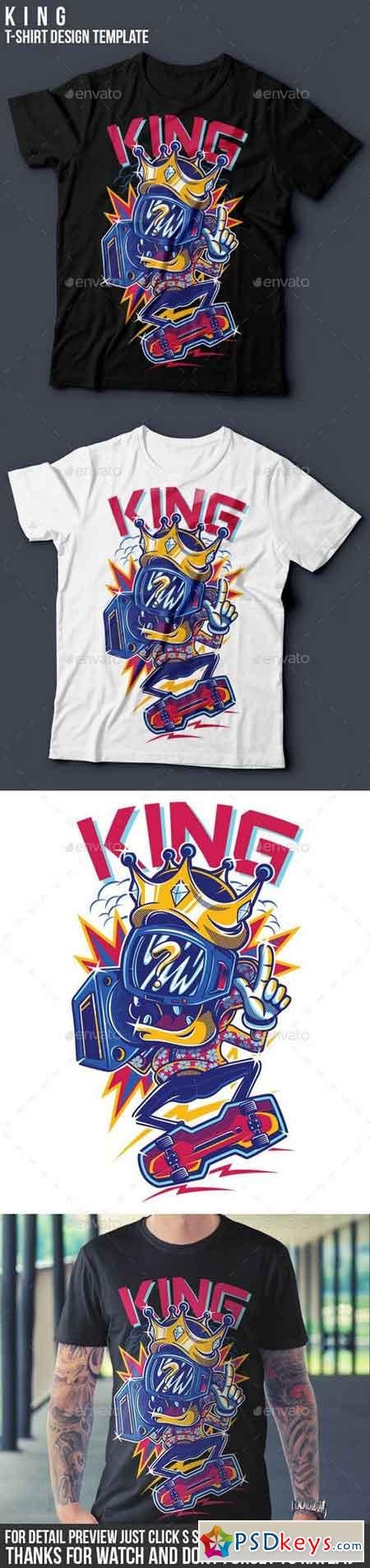 KING T-Shirt Design 15853356