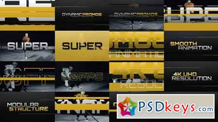 Dynamic Promos 16086391 After Effects Template