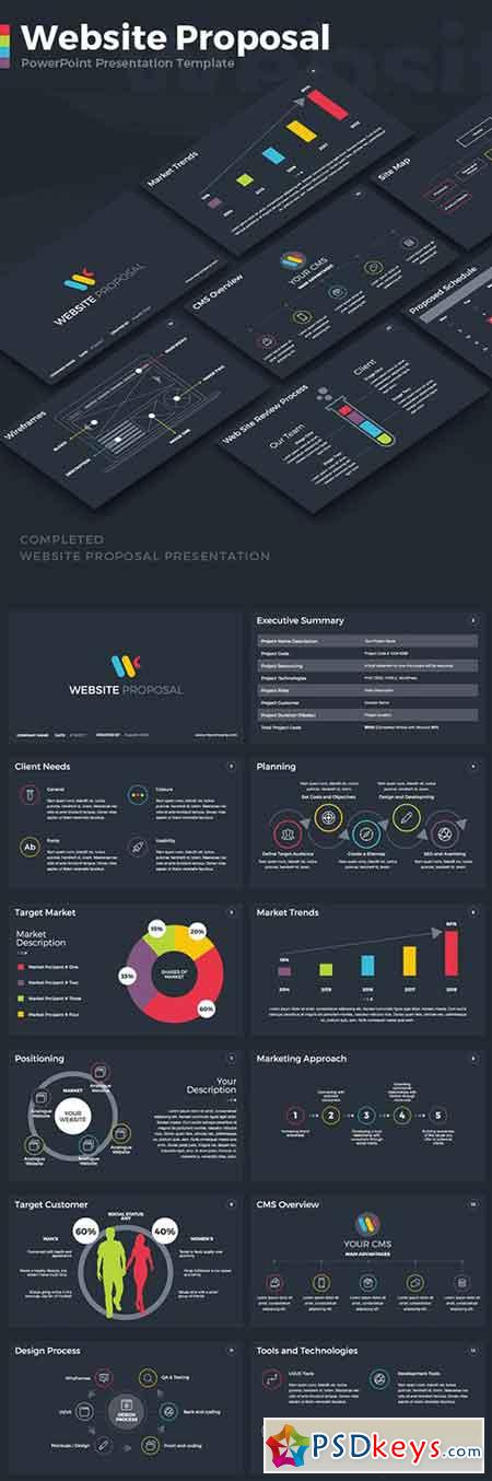 Website Proposal PowerPoint Template 19640240