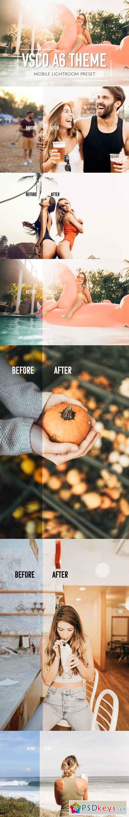 Mobile Lightroom Preset Orange 2858982