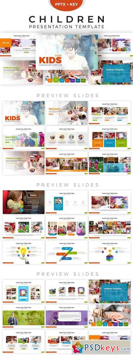 Children Presentation Template 2856236