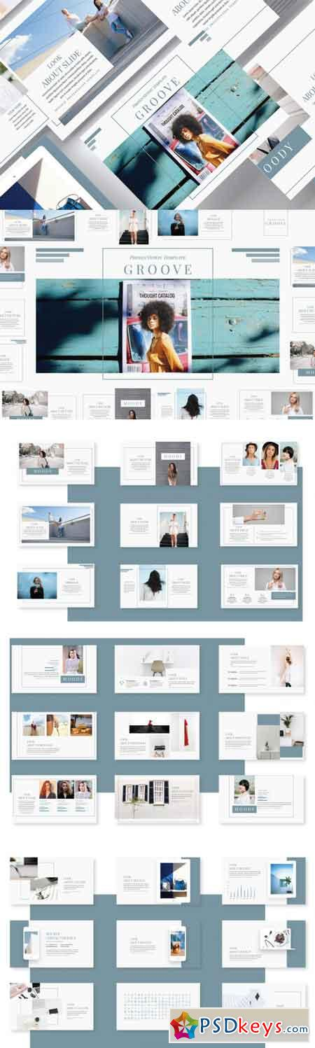 Groove Powerpoint Template 3481567
