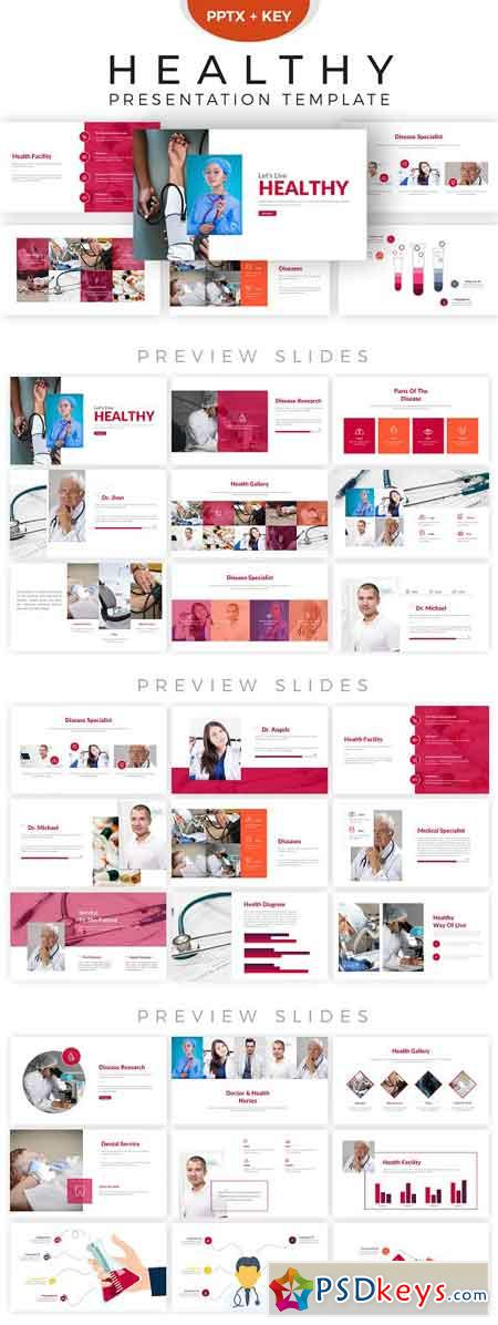 Healthy Presentation Template 2856327
