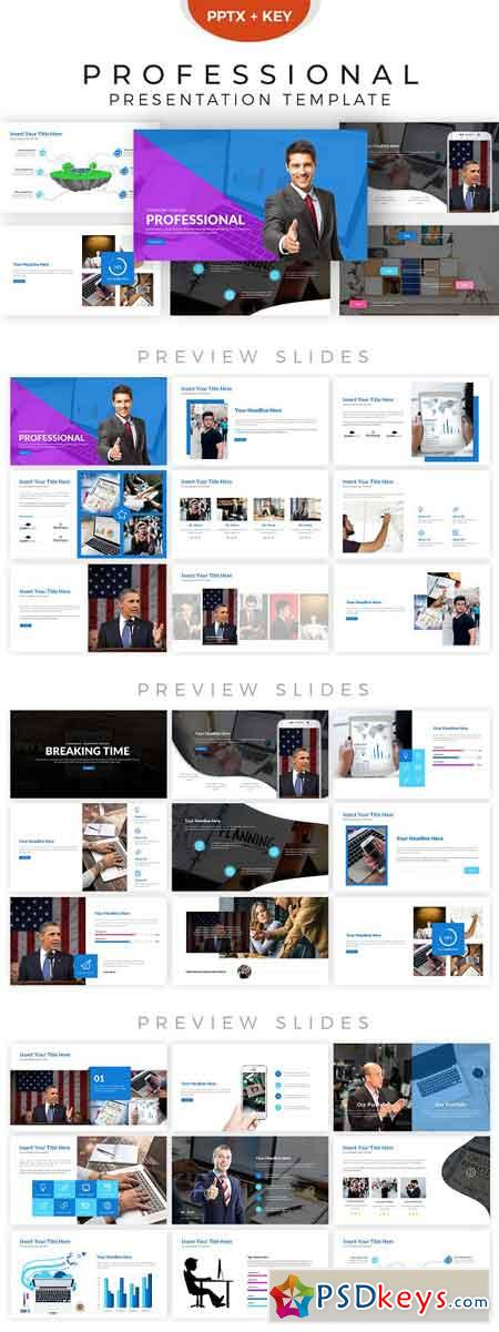 Professional Presentation Template 2856283