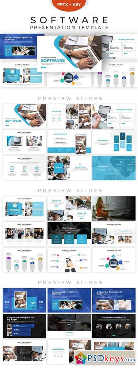Software Presentation Template 2856272