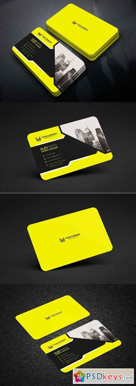 Corporate Business Card 2826798