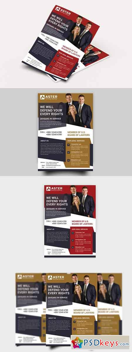 Lawyer Firm Flyer 2821753