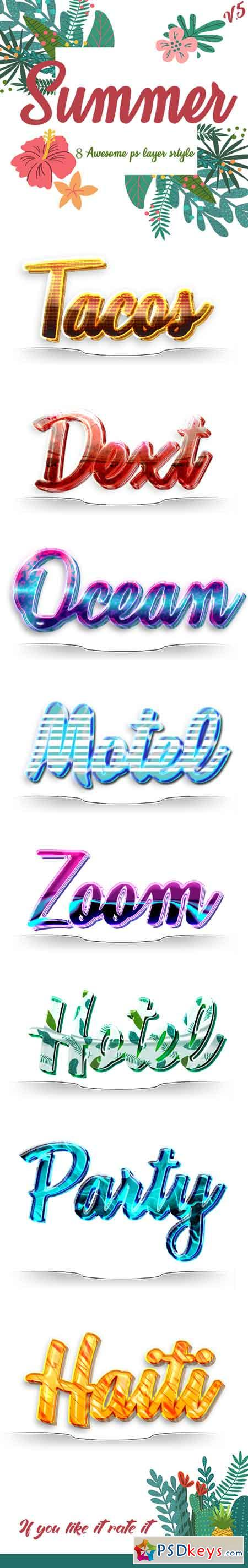 Summer Text Effects v 5 22465575