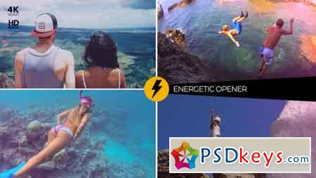 Energetic Opener 22468714 After Effects Template