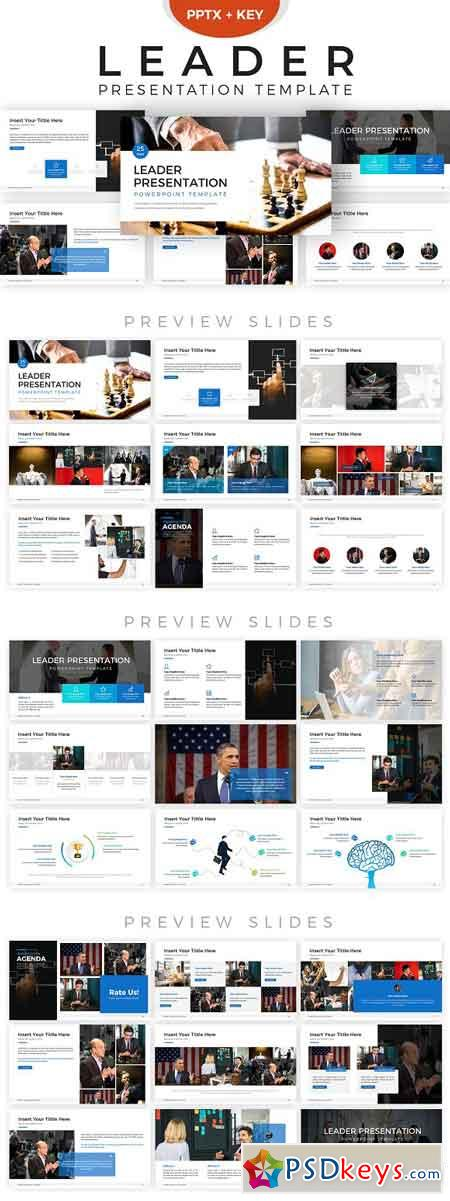 Leader Powerpoint Template 2856235
