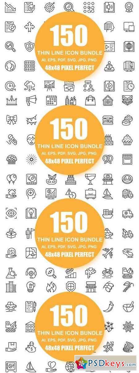 600 Icon Bundle