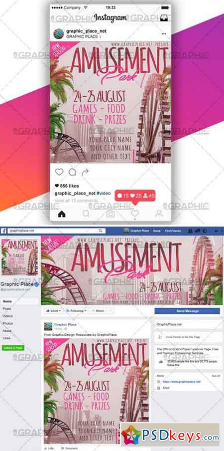 AMUSEMENT PARK – SOCIAL MEDIA VIDEO TEMPLATE