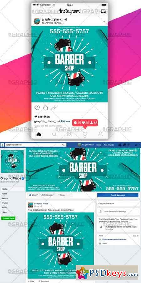 BARBER SHOP – SOCIAL MEDIA VIDEO TEMPLATE