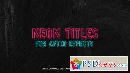 Neon 21058953 After Effects Template