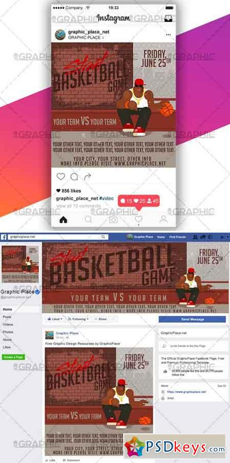 STREET BASKETBALL GAME – VIDEO PSD TEMPLATE » Free Download