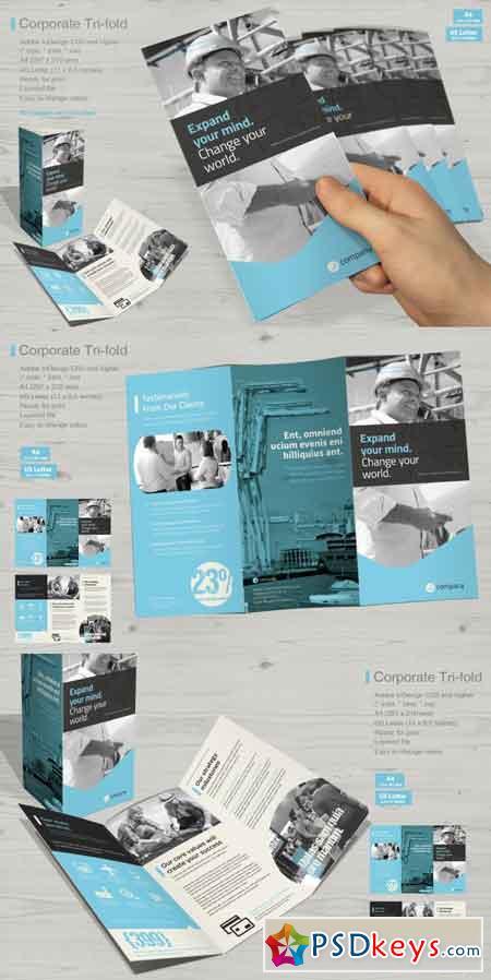 Corporate Tri-fold Vol. 6 3479492