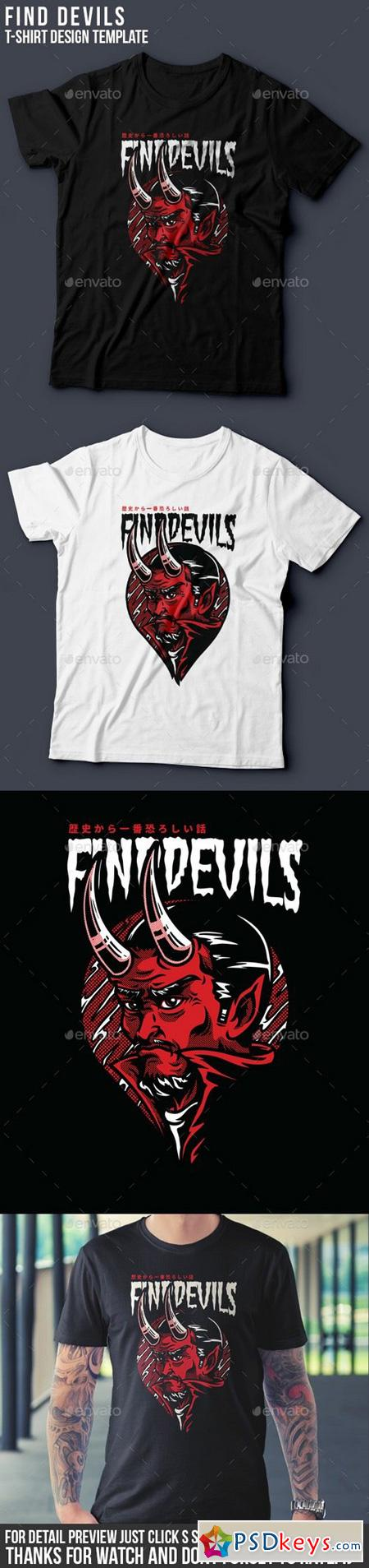 Find Devils T-Shirt Design 20451670