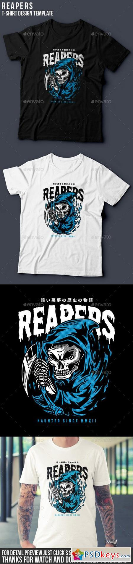 Reapers T-Shirt Design 20451581