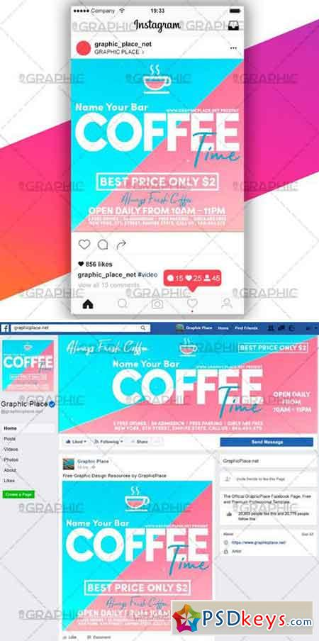COFFEE TIME – SOCIAL MEDIA VIDEO TEMPLATE