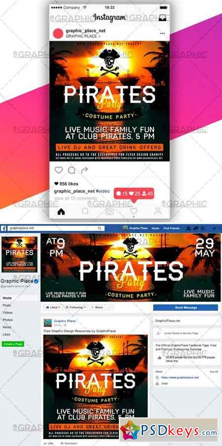 PIRATES PARTY – SOCIAL MEDIA VIDEO TEMPLATE