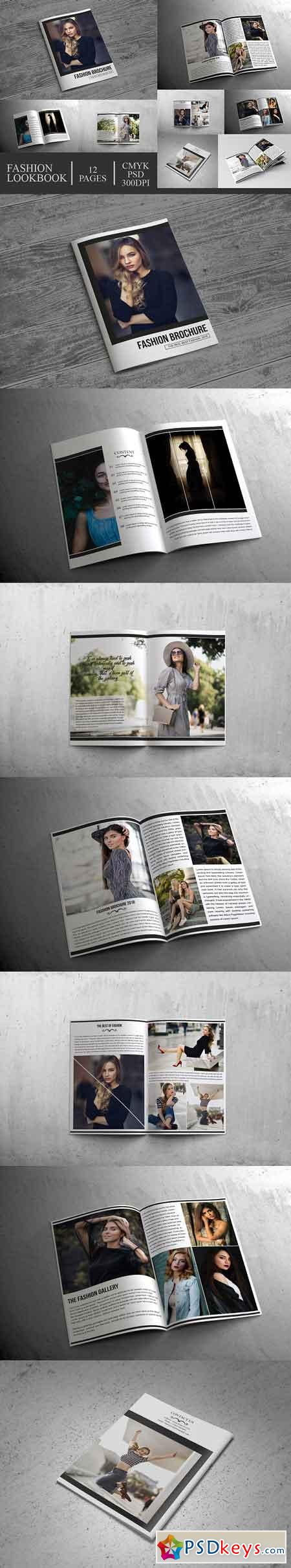Fashion Lookbook Brochure 12 Pages 2809906