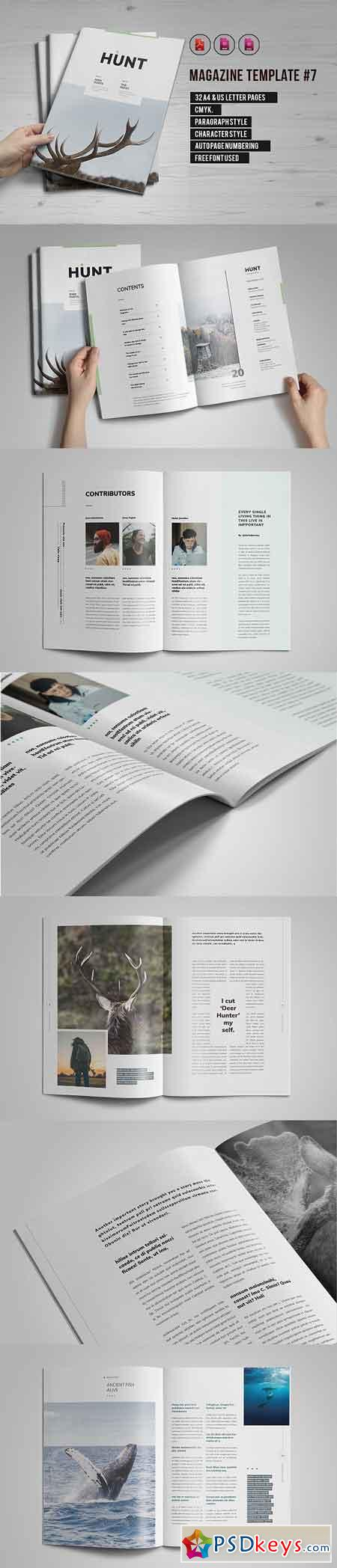 Indesign Magazine Template 7 2820974