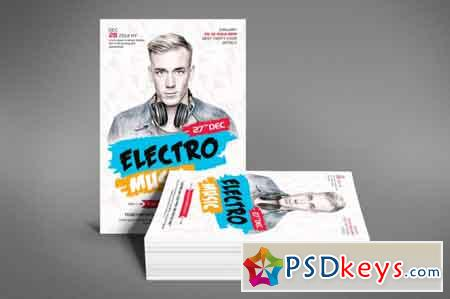 Electro Music Flyer 3484386