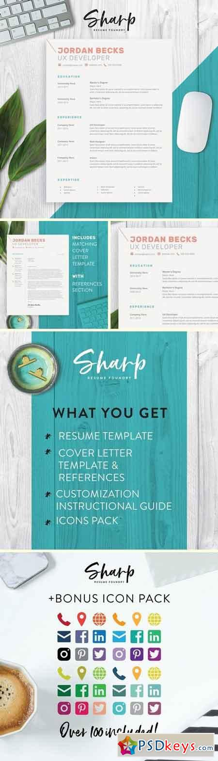 Modern Resume Template for Word 2160528