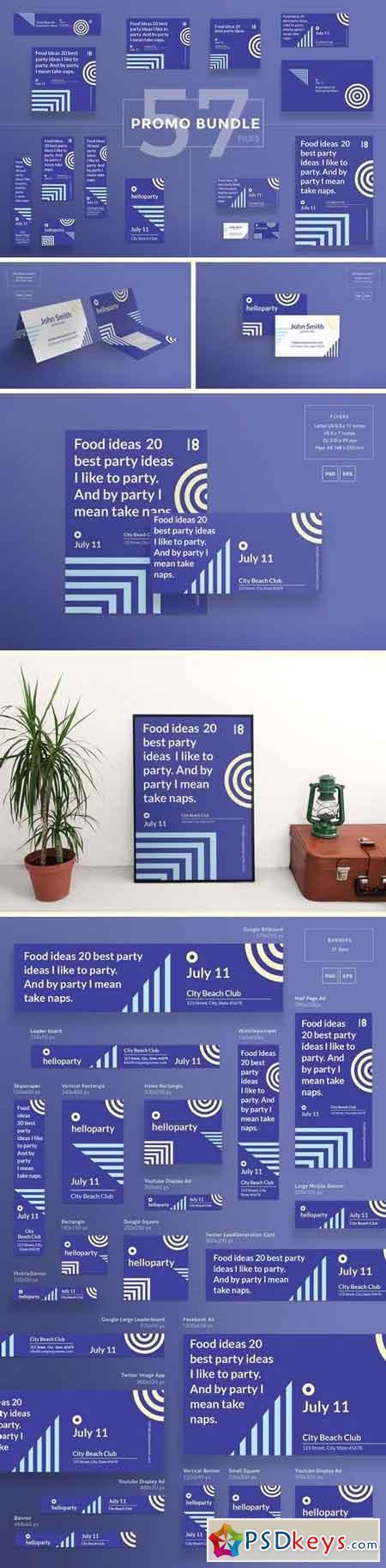 Promo Bundle Hello Party 1825936