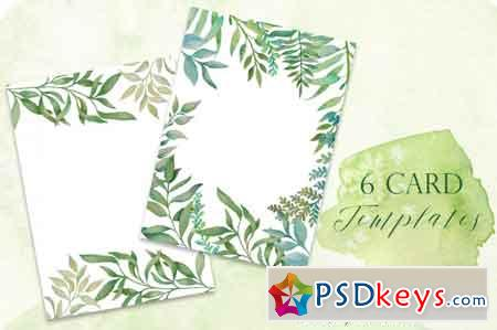 Greenery Cards 3486008