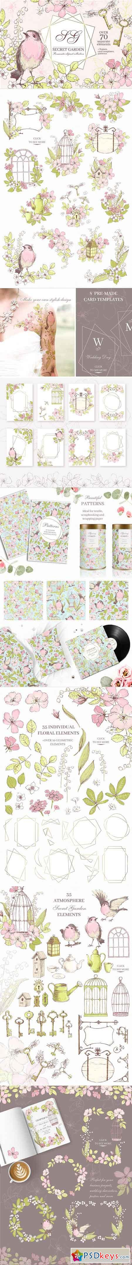 Secret Garden graphic kit 2904588