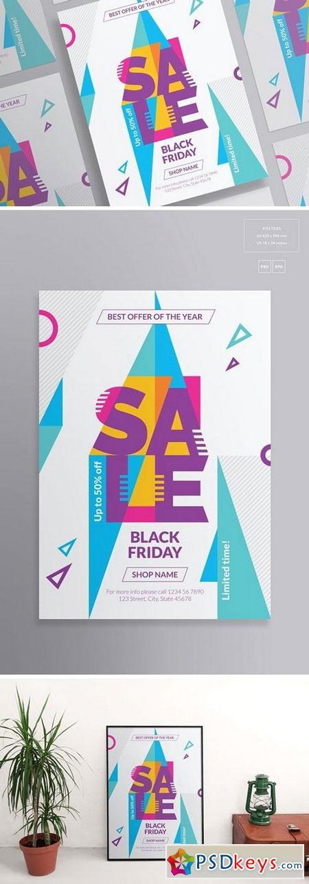 Posters Black Friday 1886792