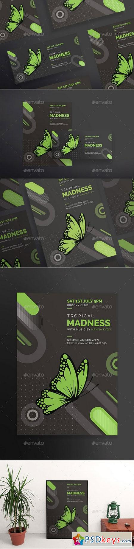 Tropical Madness Flyers 20714220
