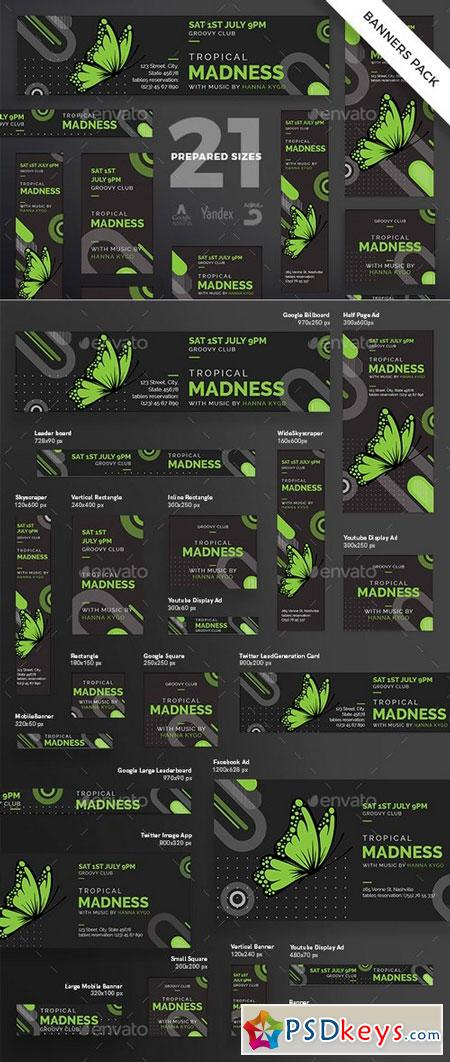 Tropical Madness Banner Pack 20714209