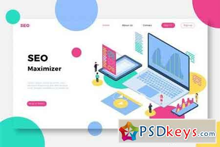 SEO Maximizer - Banner & Landing Page