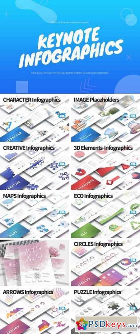 BUNDLE - Keynote Infographics Slides