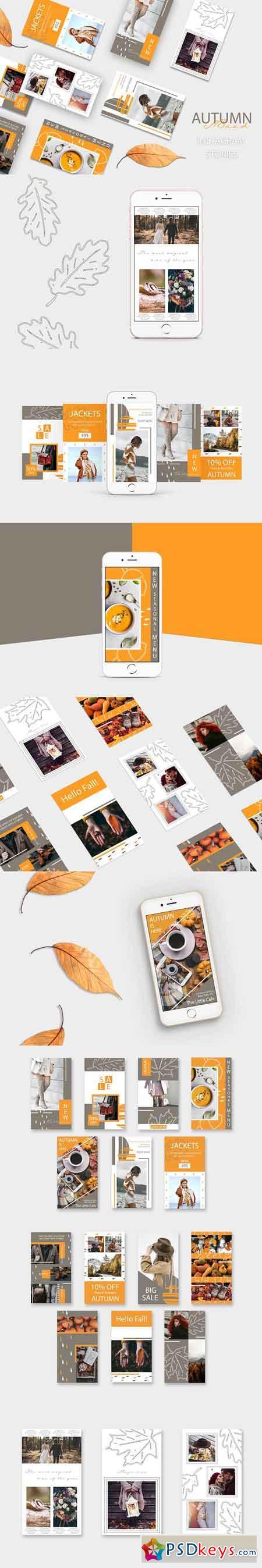 AUTUMN Mood - Instagram Stories Pack 2926091