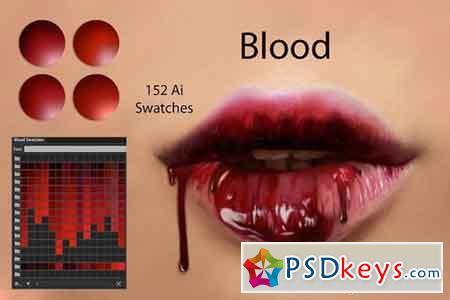 Blood Ai Swatches 2900473